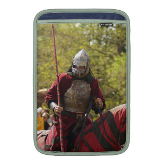 Medieval Knights Horses Lions Castle Party Destiny MacBook Air Sleeve
