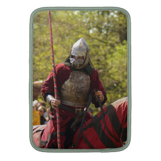Medieval Knights Horses Lions Castle Party Destiny MacBook Air Sleeves