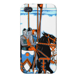 Medieval Knights iPhone Case iPhone 4 Cover