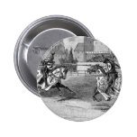Medieval Knights Jousting Pinback Buttons