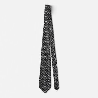 Medieval Knights Templar Chain-Mail effect Neck Tie