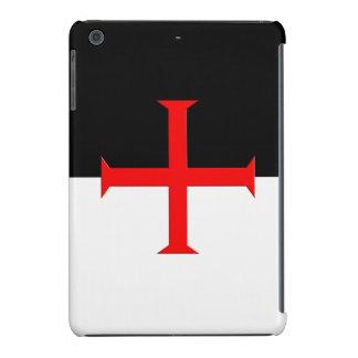 Medieval Knights Templar Cross Flag iPad Mini Retina Case
