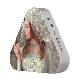 Medieval Lady Bluetooth Speaker