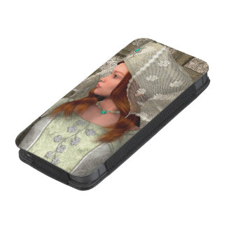 Medieval Lady iPhone SE/5/5s/5c Pouch