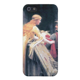 Medieval lady knight castle case for iPhone SE/5/5s