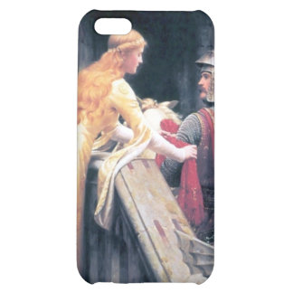 Medieval lady knight castle iPhone 5C case
