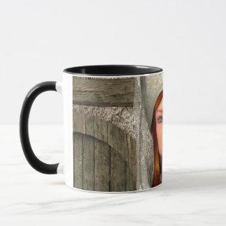 Medieval Lady Mug