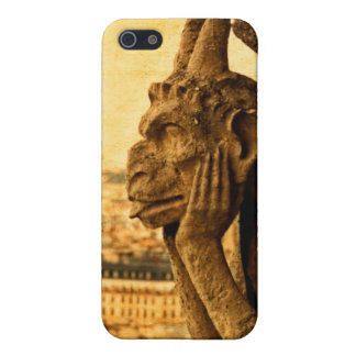 Medieval Le Stryge Gargoyle at Notre Dame, Paris Case For iPhone SE/5/5s