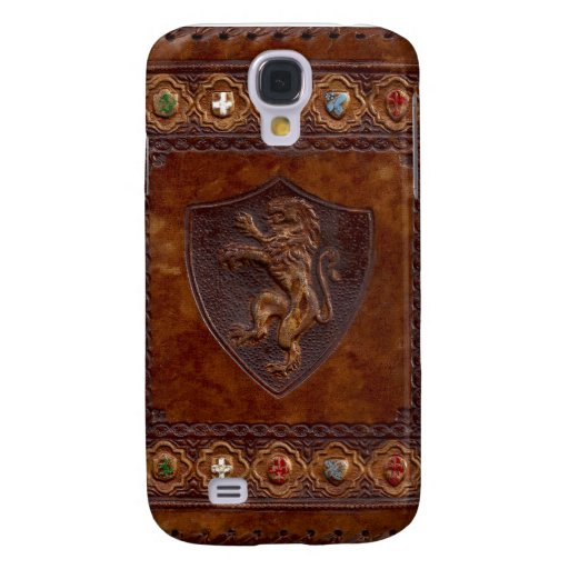 Medieval Leather Book Cover Galaxy S4 Covers