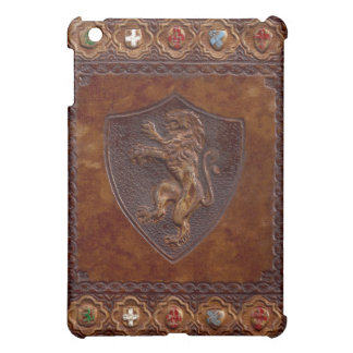 Medieval Leather Book Cover iPad Mini Covers