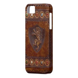 Medieval Leather Book iPod 5 Cover