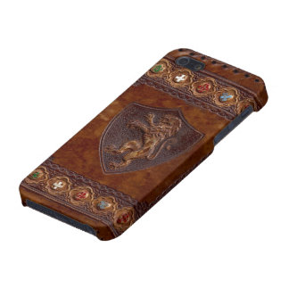 Medieval Leather Book iPod 5 Savvy Cover