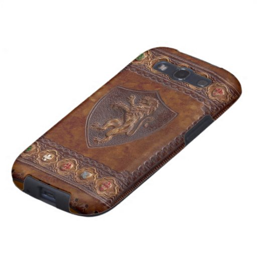 Medieval Leather Samsung Galaxy S3 Vibe Case Samsung Galaxy SIII Cases
