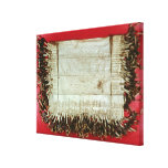 Medieval letter of protest from the Bohemian Gallery Wrapped Canvas