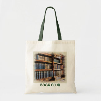Medieval Library and Books of Antiquity Artwork Budget Tote Bag