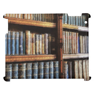 Medieval Library and Books of Antiquity Artwork Cover For The iPad 2 3 4