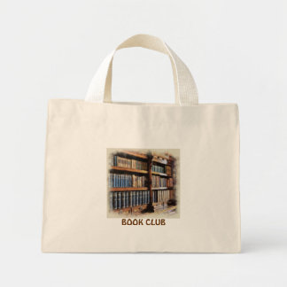 Medieval Library and Books of Antiquity Artwork Mini Tote Bag