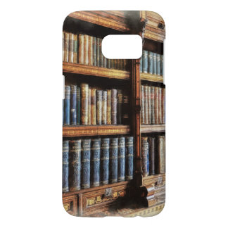 Medieval Library and Books of Antiquity Artwork Samsung Galaxy S7 Case