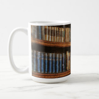 Medieval Library and Books of Antiquity Design Coffee Mug