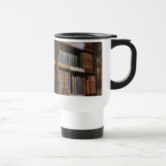 Medieval Library and Books of Antiquity Design Coffee Mugs