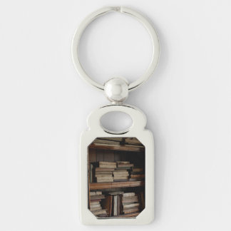 Medieval Library and Books of Antiquity Keychain