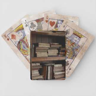 Medieval Library and Books of Antiquity Bicycle Playing Cards