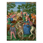 Medieval Life Postcard