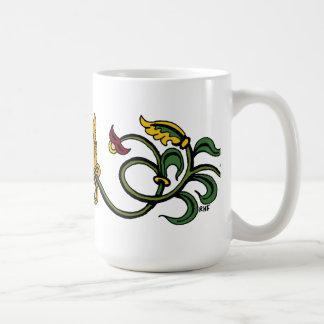 Medieval Lion Design Coffee Mug