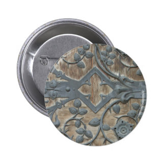 Medieval Lock Pinback Buttons