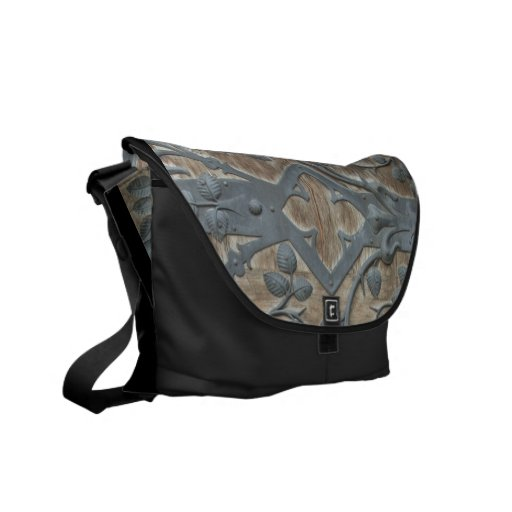 Medieval Lock Messenger Bag