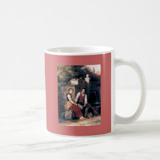Medieval Love Woman Man painting romantic Coffee Mug