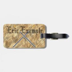 Medieval Luggage Tag