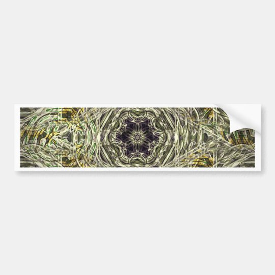 Medieval magic pattern bumper sticker
