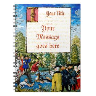 Medieval Manuscript Cover Notebook