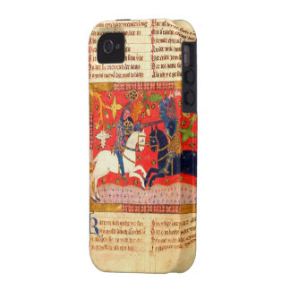 Medieval Manuscript iPhone4 Case Case-Mate iPhone 4 Cover
