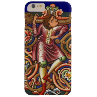 Medieval Manuscript Nobleman Elegant Antique Style Barely There iPhone 6 Plus Case