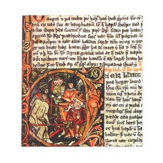 Medieval Manuscript Notepad