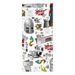 Medieval Mash-up Bookmarks Rack Card