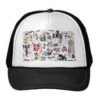 Medieval Mash-up Trucker Hats