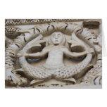 Medieval Mermaid Card