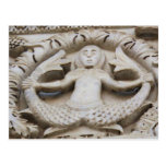 Medieval Mermaid Postcard