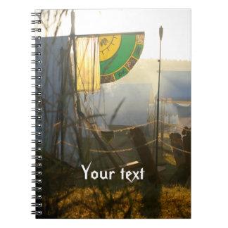Medieval Mists Banner Notebook