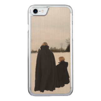 Medieval Mother and Daughter Carved iPhone 7 Case