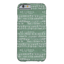 Medieval Music Manuscript iPhone 6 case at Zazzle