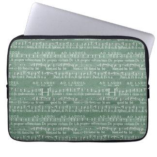 "Medieval Music Manuscript Neoprene Sleeve 13"" Computer Sleeve"