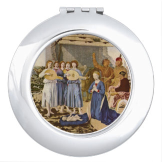 Medieval Musicians Play Music for Jesus Mirror For Makeup