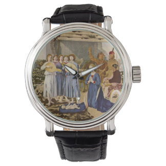 Medieval Musicians Play Music for Jesus Watches