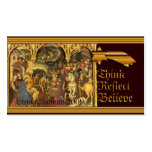 Medieval Nativity Business Card Template