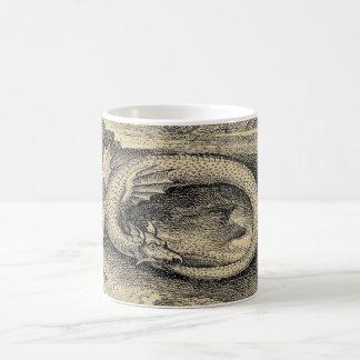 Medieval Ouroboros Dragon Coffee Mug