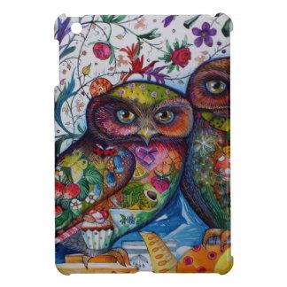 medieval owls iPad mini case